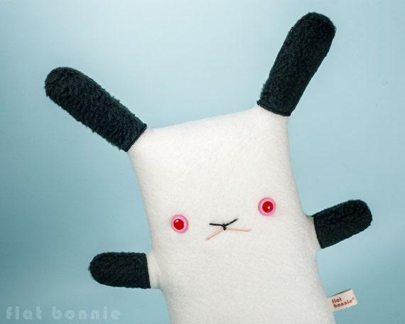 Californian bunny stuffed animal, Himalayan rabbit plush, Cute bunny stuffy soft toy doll, Kawaii Japan Handmade animal lover gift