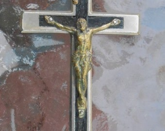 Vintage Pectoral Cross Crucifix Germany