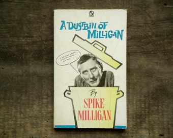 Vintage Spike Milligan book, A Dustbin of Milligan