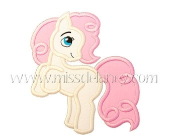 ON SALE Pony Applique Design