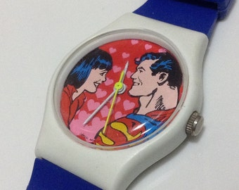 DC Comics vintage watch 1986 edition small dial