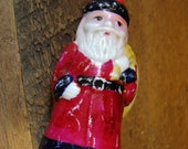 RESERVED for Annette Vintage Old Style Santa Christmas Light Bulb NOT TESTED Very Nice Condition Japan 1950's