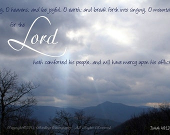 The Light of the Lord with Verse, North Carolina