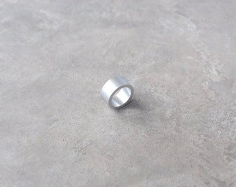 Minimalist Ring Industrial Jewelry Sphere Ring