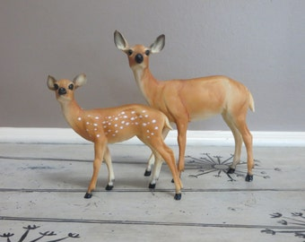 Breyer Deer Breyer Fawn Deer with Spots Vintage Breyer Animals Vintage Deer Plastic Doe Woodland Deer