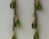 Charmed Dangles of Vintage Green- Charity Donation.