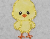 Baby Chick - MADE to ORDER - Choose COLOR - Tutu & Shirt Supplies - Iron on Applique Patch 7752