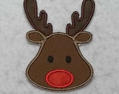 Reindeer - MADE to ORDER - Choose COLOR and Size - Tutu & Shirt Supplies - fabric Iron on Applique Patch 7285