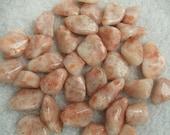 Sunstone Set of 6 Tumbled Medium Crystals Stones (CRYT-SS-M)