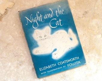 Vintage Children's Book Night and the Cat Coatsworth Foujita
