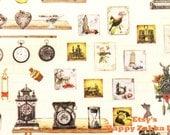 Vintage European Style Household Items - Translucent Die Cut Deco Sticker - 1 Sheet