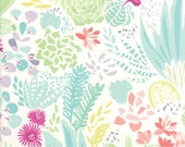 Pastel Floral Fabric - Canyon by Kate Spain from Moda 1 Yard