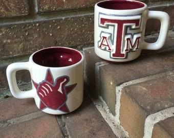 Texas A&M Gig'Em Mug