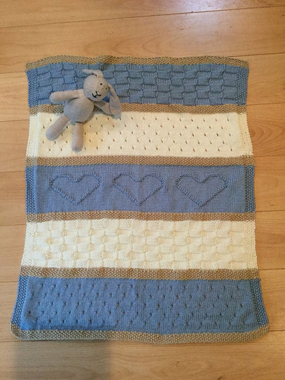 Heart Baby Blanket Knitting Pattern : Baby Blanket Pattern, Knit Baby Blanket Pattern, Heart Baby Blanket Pattern, ...