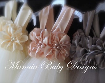 Customize Your Own Flower Girl Dress