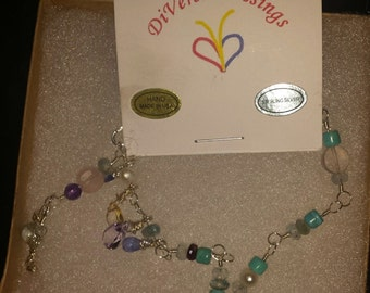 Your Story, Love Story, Family Tree, Links and Charms, Sterling Silver, Genuine Gemstones, Custom Made, Prices May Vary, Priority Shipping