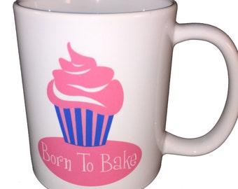 Born To Bake Mug