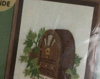 Radio Stitchery embroidery jiffy crewel kit 391 by sunset unopened