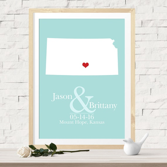 Unique Wedding Gift for Couples, Wedding Guest Book Alternative ...