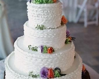 "TREASURY ITEM - 15"" Wood Tree Slice - Rustic wedding cake stand - Reclaimed wood - tree log - Wood cake stand -Wood slab - Guest book"