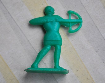 Vintage Soviet Russian plastic toy Soldier.