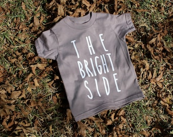 The Bright Side American Apparel organic cotton kids t-shirt