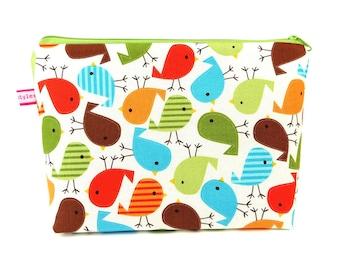 """Bag / diaper bag made of fabric design: """"Birds"""""""