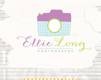 Photography logo design camera logo pre made ooak logo design and watermark