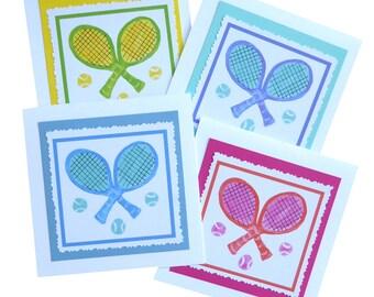 Tennis Note Card Set