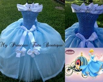 Cinderella Girls Tutu Dress Disney Princess Tutus Princess Tutus Princess Tutu Dress Princess Halloween Costume