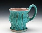 Plump Mug, Turquoise