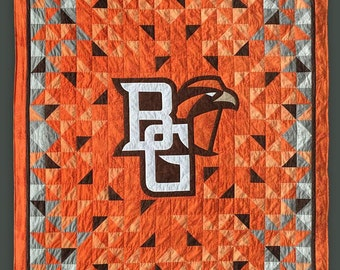 Bowling Green State University Falcons BGSU Quilt