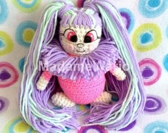 Neopets Magical Hair Usuki Usul Plush Doll (Amigurumi Plushie!)