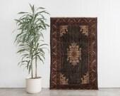 KARIM 4x6 Hand Knotted Rizbaft Wool Rug