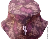 Camouflage Splatter Unisex Bucket Hat | Brown Camouflage Hat | Camo Hat | Brown and Purple Splotch Hat by Hamlet Pericles