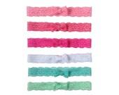 """1"""" Lace Bow Headband"""