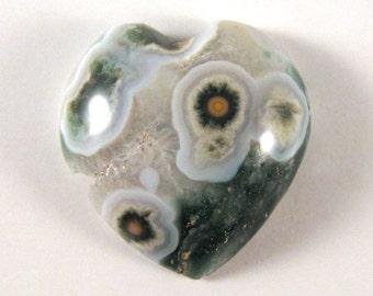Ocean Jasper Heart  ETOJ520