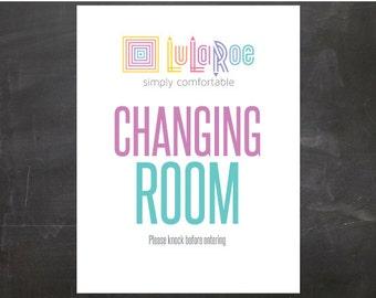 Lularoe Changing Room Sign PRINTABLE PDF files