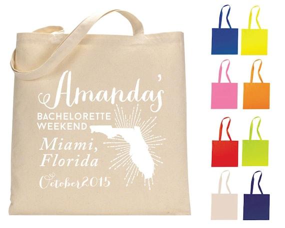 Florida Wedding Gift Bag Ideas : ... Tote Bags, Wedding Welcome Totes, Wedding Favor Bags, Totes, 1300