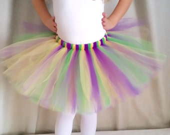 Mardi Gras Tutu, Purple Green And Yellow Tutu, Mardi Gras Party, Mardi Gras Parade, Purple Green Gold Tutu, Ladies Womens Tutu