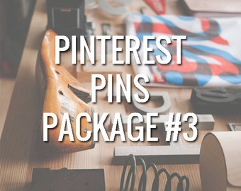Pinterest Package #3