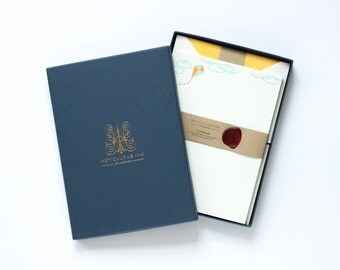 Letterpress Kite Letterhead Box Set