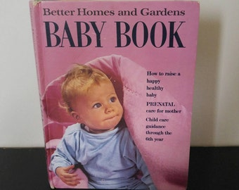 Vintage Better Homes & Gardens Baby Book - 1969