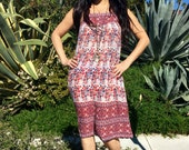 Vintage Gauze Dress//Cotton Dress// Vintage Indian Gauzy Boho Dress//  1970s Indian Dress// ethnic hippie festival