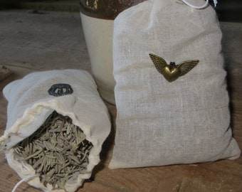Lavender Sachets with Charms