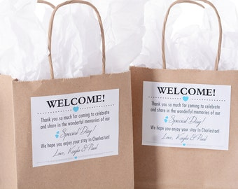 Hotel Wedding Welcome Bags