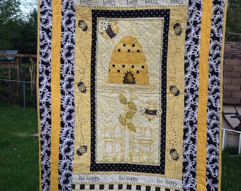 Honey Bee Baby Quilt