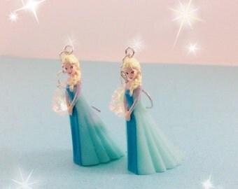 Rare Kawaii Elsa Earrings - Jewelry - Disney's Frozen