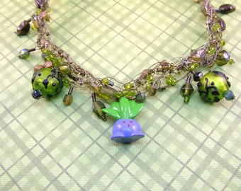 Cute Oddish Pokemon Jewelry Choker