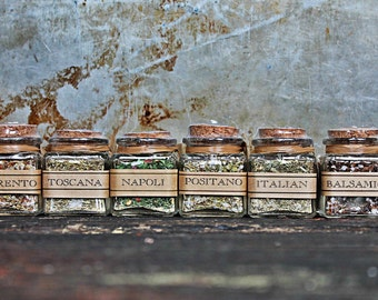 Wedding and Party Favors italian spices, seasoning blends, gourmet salts